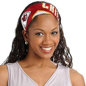 NFL Kansas City Chiefs Ladies Red FanBand Jersey Headband