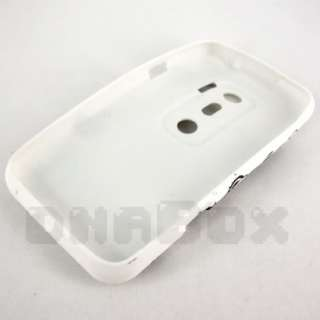 Soft TPU Gel Case Cover Skin + Film For HTC EVO 3D  F1