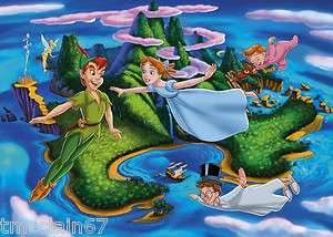 Peter Pan edible cake image topper  1/4 sheet