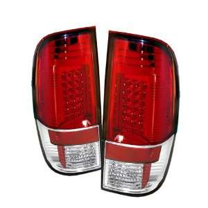 Ford Super Duty / F250 08 09 LED Tail Lights + Hi Power
