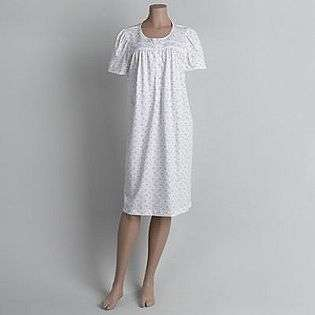 Womens Floral Knit Nightgown  Fundamentals Clothing Intimates