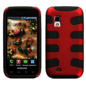 FISHBONE Hybrid Phone Protector Cover Case FOR Samsung MESMERIZE i500