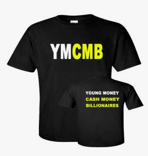 YOUNG MONEY LIL WEEZY Wayne HIP HOP RAP T shirt sizes S 5XL