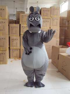 Hippo Mascot Costume Outfit Suit Fancy Dress SKU 12820641362