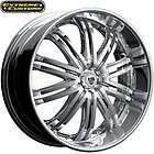 20 x8.5 TIS Luxury Wheels 532C Chrome 5 6 Lugs Rims FREE LUGS
