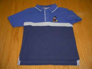 NEW WT DISNEY MICKEY MOUSE POLO SHIRT BOYS 4T