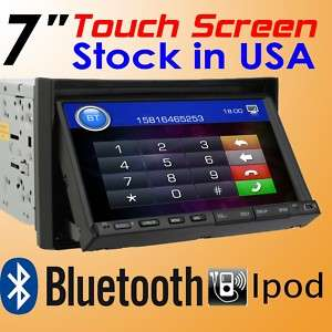HD Touch Screen 7 Car DVD Player Radio In dash Stereo