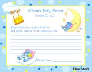 Care Bears Moon & Stars Baby Shower Package #1