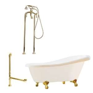 Giagni LN2 MB Newton Floor Mounted Faucet Package Soaking