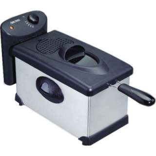 Aroma 3 Qt. Deep Fryer   Stainless Steel    Club