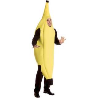 Halloween Costumes Banana Deluxe Adult Costume