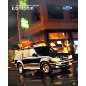 1998 Ford Explorer SUV vehicle brochure