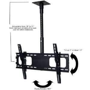Mount for 32 to 60 inch Flat Panels with Adjustable Mast Electronics