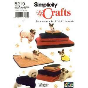Sewing Pattern Pet Dog Beds Blankets Coats Arts, Crafts & Sewing
