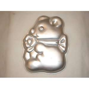Wilton Cake Pan Cuddly Bear (502 7458, 1977)