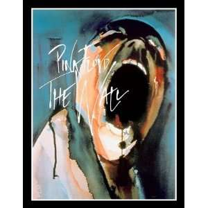 Magnet (Large) PINK FLOYD   THE WALL (Scream Logo)