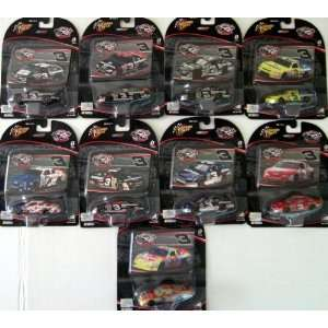 Dale Earnhardt Sr #3 1/64 Scale Complete Set of 9 Cars Toys & Games