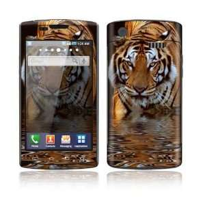 Samsung Captivate Decal Skin Sticker   Fearless Tiger