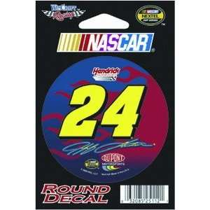 Jeff Gordon Nascar Racing Decal