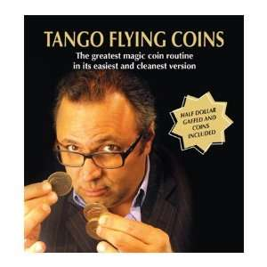 Tango Flying Coins, Kennedy Half Dollar
