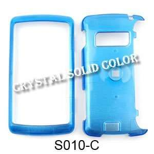 LG ENV 3 / ENV3 vx9200 Crystal Solid Blue Hard Case/Cover