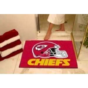 NFL Kansas City Chiefs Bathroom Rug / Bathmat