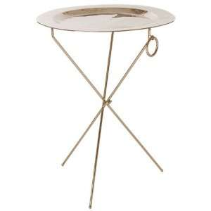 Ashland Metal Accent Table   Removable Tray