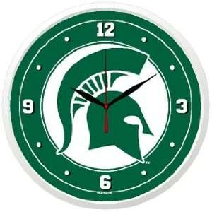 NCAA Michigan State Spartans Team Logo Wall Clock  Sports