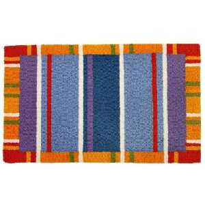 Homefires Accents Multi Colored Stripe Indoor Rug, 22 Inch