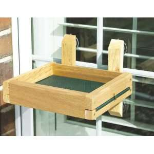 Window Bird Feeder   4 Suction Cups, Removable, Reinforced