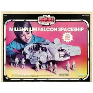 Star Wars Empire Strikes Back Millennium Falcon in Box Toys & Games
