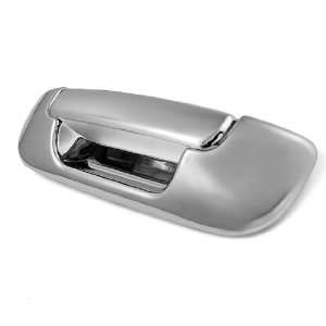 2 pcs Complete Set Automotive Chrome Tailgate Handle Cover