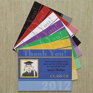 Personalized Graduation Thank You Cards   Destiny Achieved