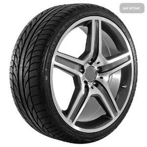 19 Inch AMG Wheels Rims and Tires for Mercedes Benz Vehicles (Set of