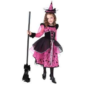 Lets Party By Rubies Costumes Victorian Witch Child Costume / Black