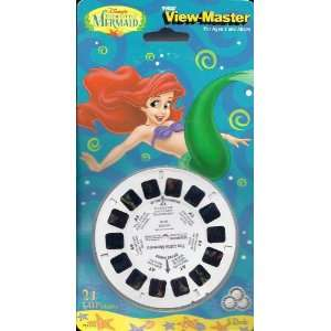 Little Mermaid   View Master   3 reel Set   21 3d Images   Made in USA