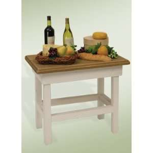 Byers Choice Carolers   Wine and Cheese Table
