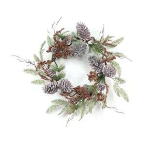 Cedar, Berry & Pine Cone Unlit Christmas Wreaths 22