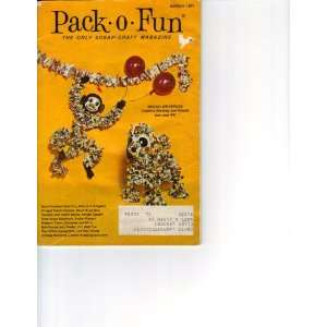 Pack O Fun March 1971 (The Only Scrap Craft Magazine