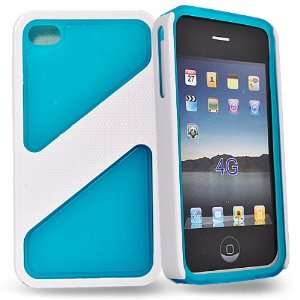 Mobile Palace   sky blue / white hard case cover pouch for