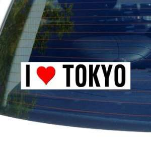 I Love Heart TOKYO Window Bumper Sticker Automotive