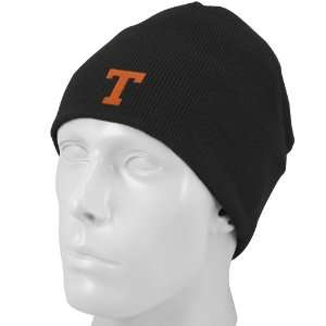 NCAA Top of the World Texas Longhorns Black Easy Does It Knit Beanie