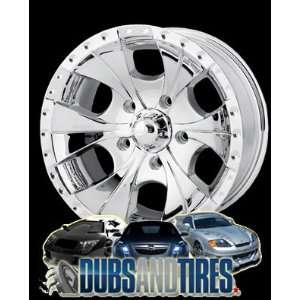 16 Inch 16x8 Ion Alloy wheels STYLE 165 Chrome wheels rims