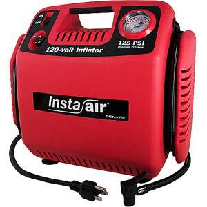 Bon Aire 120 Volt Heavy Duty Compressor, Red