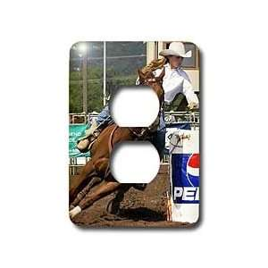 Horse   Barrel Racing   Light Switch Covers   2 plug