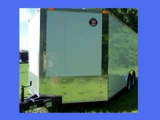 NEW 8.5X20 5200# TANDEM ROAD DOG STANDARD DUTY ENCLOSED CARGO TRAILER