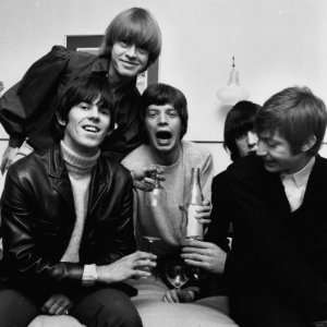 Rolling Stones Mick Jagger Keith Richards Charlie Watts Brian Jones