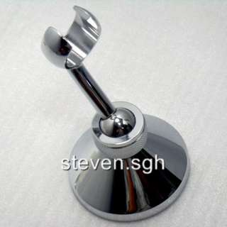 Chrome Adjustable Wall Mounted HandHeld Shower Bracket