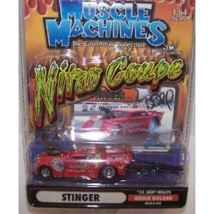 Muscle Machines 1/64 Scale Diecast Nitro Coupe Series