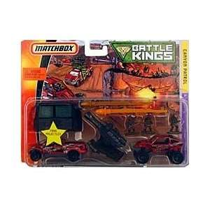 Matchbox Battle Kings Canyon Patrol w/ Army Men Toys & Games